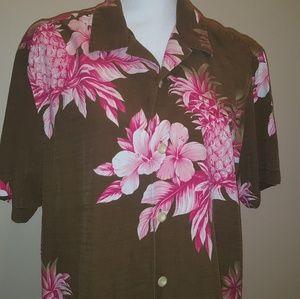 Tommy Bahama island modern fit hawaiian shirt Rare
